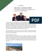 CASO NULE DE CORRUPCIÓN