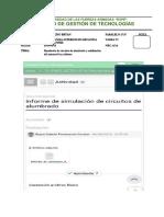 Informe de Simulación de Circuitos de Alumbrado