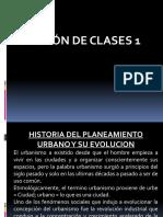 SESION DE CLASE 1 -2- 3 - 4 Planeamineto Urbano y Regional