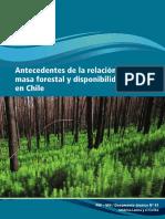 Unesco- La relación de la masa forestal hídrica y disponibilidad hídrica en Chile .pdf