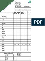Planilha Diagnostica Simplificada 9 ANO