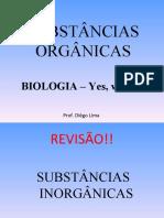 SUBSTÂNICAS ORGÂNICAS