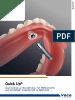Quick Up Overdenture Material Voco