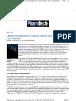 Change Management Article
