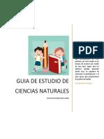 GUIA DE ESTUDIO DE CIENCIAS NATURALES