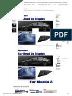 Pantalla HUD Head Up para Mazda3 para Mazda 3 2018 _ 2019 HD proyector pantalla