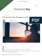 Todo sobre la ley de Teletrabajo en Chile.pdf