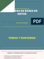 Sistemas de bases de datos sem 4