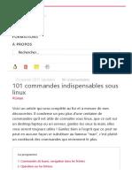 101 commandes indispensables sous linux – Buzut.pdf