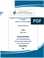 fraider ensayo de didactica y pedagogia general