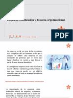 CLASE 3_Fase Análisis_Empresa, clasificación y filosofía organizacional .pptx