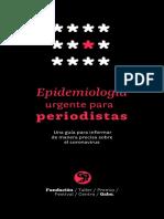 Epidemiología urgente para periodistas