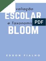 Avaliacao Escolar e Taxonomia d - Edson Fialho