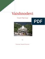 Vaishnodevi Temple Pilgrimage