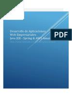 Desarrollo Aplicaciones Web Empresariales Java JEE - Spring & AWS Amazon