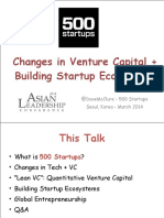 Changes in Venture Capital Building Startup Ecosystems_2014_