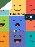 livro E-book das EMOÇÕES
