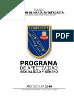 PROGRAMA DE AFECTIVIDAD - SEXUALIDAD Y GÉNERO - AÑO ESCOLAR 2019.pdf