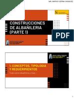 SESION 05 - ALBAÑILERIA PARTE I