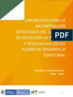 1. Documento Lineamiento Estratégico Pobreza PDT 20 dic 2019 (1)