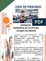 ESTUDIO DE MERCADO - PROYECTO - PRESENTACION