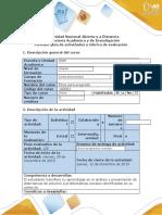 Guia de actividades y rúbrica de evaluación - Tarea 4 - Plantear propuesta de solución estudio de caso .docx
