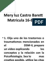 EXPOSICION FINAL DE PSICOFISIOLOGIA MERY LUZ