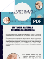 SEMANA MUNDIAL DE LA LACTANCIA MATERNA [Autoguardado]
