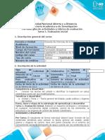 - Tarea 1 - Evaluación Inicial legislacion