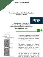 Características sobre torres empacadas
