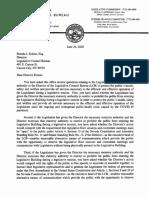 Legal Opinion - Restricting Access to Nevada Legislative Building