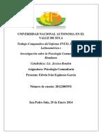 Informe (Psicologia Comunitaria)
