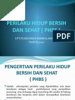 PERSENTASE PHBS  RUMAH TANGGA.pptx