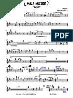 ( MALA MUJER ) ORQUEST - Trompeta Solo.pdf