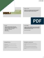 apresentação da disciplina, folhetos