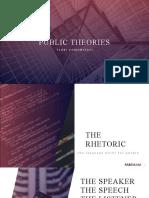 PUBLIC THEORIES