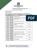 ORGANIZAÇÃO CURRICULAR E EXECUÇÃO FIC_EAd-1