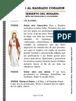 ROSARIO DE JACULATORIAS AL SAGRADO CORAZON77 ORDENADO SEPT 2019