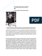 TRADUCCIONHabermas-The Idea of the theory knowledge as social theory