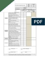 Check List de verificación de requisitos de SSO v03