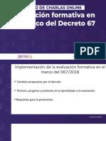 Evaluación Formativa D67 Charla Online 2