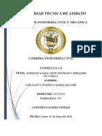 Consulta 2 Normativa de Ganchos, Empalmes