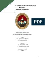 S1 ALTERACIONES DEL CICLO MENSTRUAL