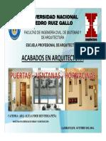 CLASE 03 PUERTAS-VENTANAS-HORNACINAS