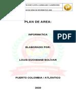 Plan de area Informatica 2020 Gimnasio Campestre
