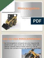 Minicargadora