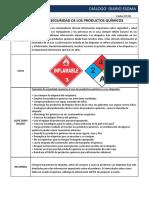 07-02  Etiquetas de Seguridad de los productos químicos