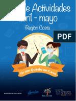 2. Guia de actividades abril-mayo Region costa