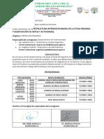 CONVOCATORIA DE TRABAJO ANÁLISIS DE FICHA DEL MINISTERIO (1)