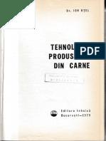 Otel_Ion_Tehnologia produselor din carne